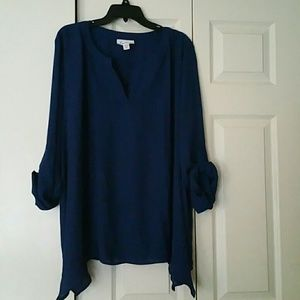 WOMEN'S CONVERTIBLE SLEEVES BLOUSE